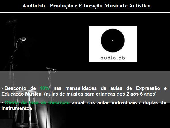 AUDIOLAB – Produção e Educação Musical e Artística