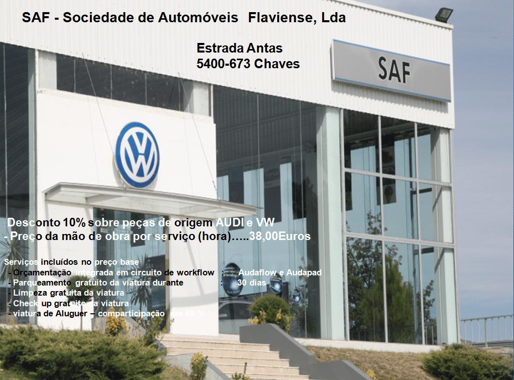 SAF – SOCIEDADE AUTOMÓVEIS FLAVIENSE, LDA