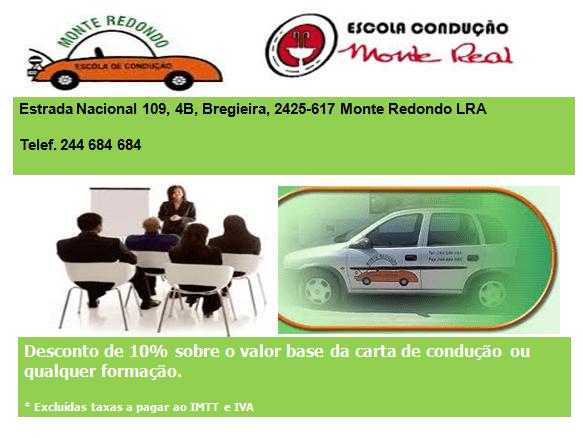ESCOLA CONDUÇÃO MONTE REDONDO