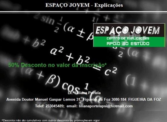 ESPAÇO JOVEM – Explicações