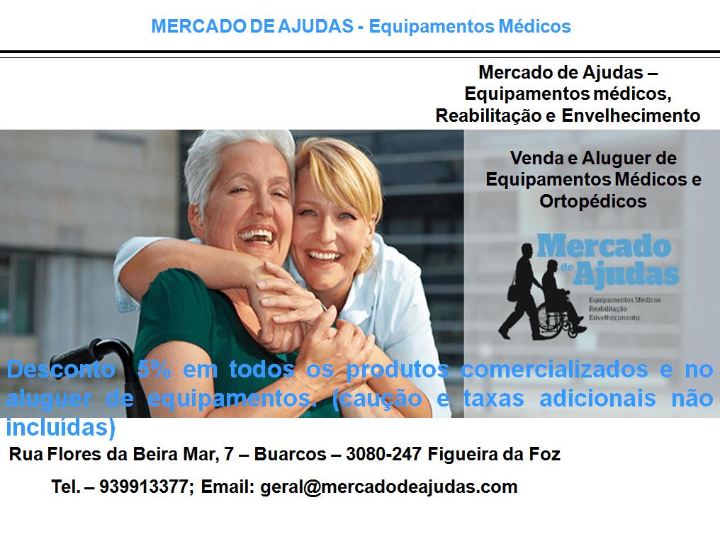 MERCADO DE AJUDAS – Equipamentos Médicos
