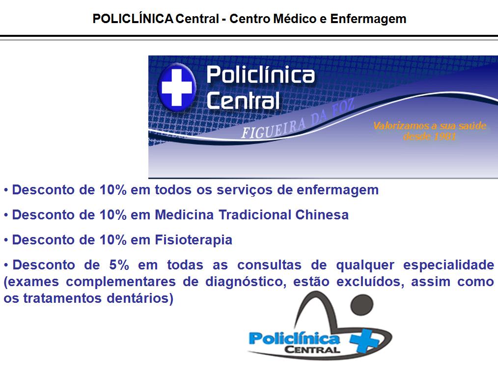 POLICLÍNICA Central – FIGUEIRA DA FOZ