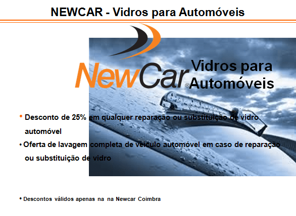 NEWCAR – Vidros para Automóveis