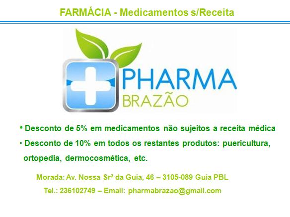 PHARMA BRAZÃO – Farmácia – Medicamentos s/Receita