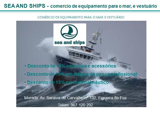 SEA AND SHIPS – Comércio de Equipamento para o Mar e Vestuário