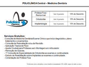 Policlina Central – Medicina Dentária